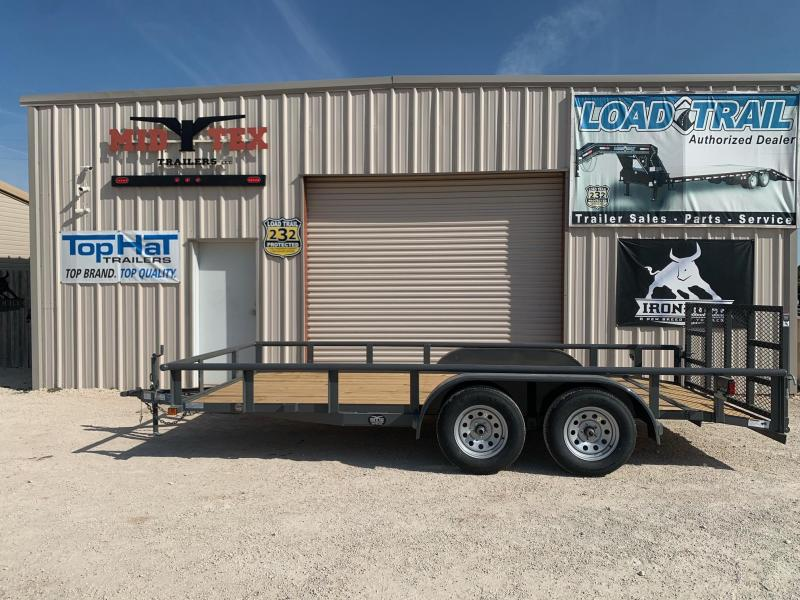2022 Top Hat Trailers MP 16x83 Utility Trailer