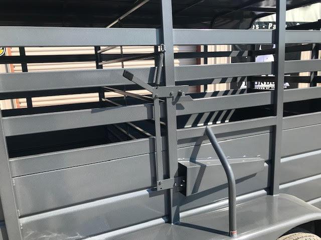 2021 W-W Trailer 6x16 Livestock Trailer