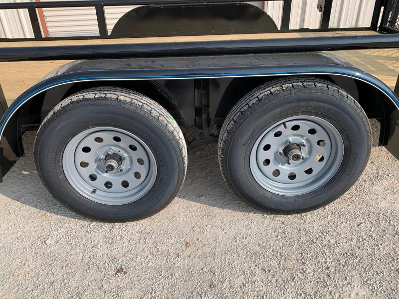 2020 Top Hat Trailers MP83x16 Utility Trailer
