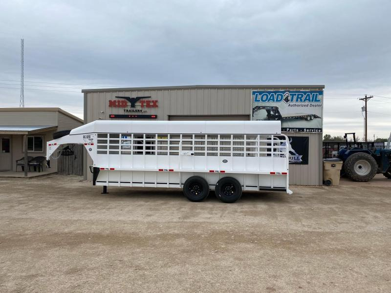 2021 Big Bend GN6.5x20 Livestock Trailer