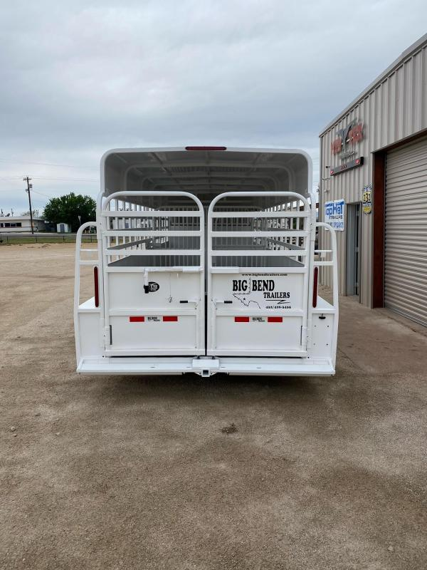 2021 Big Bend GN6.5x20 Livestock Trailer