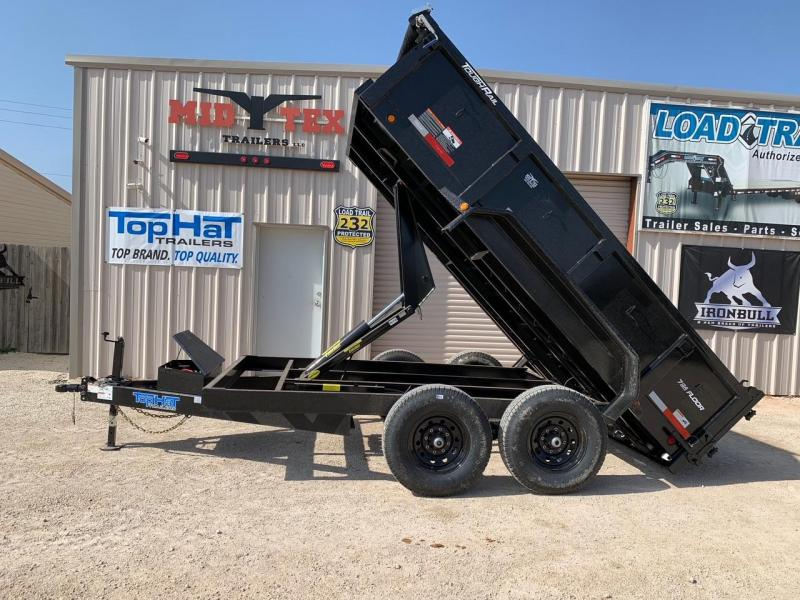 2021 Top Hat Trailers DP83X12 Dump Trailer