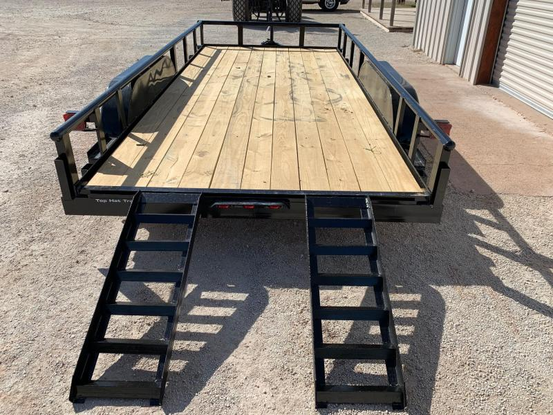 2021 Top Hat Trailers MP83x16 Rental Utility Trailer
