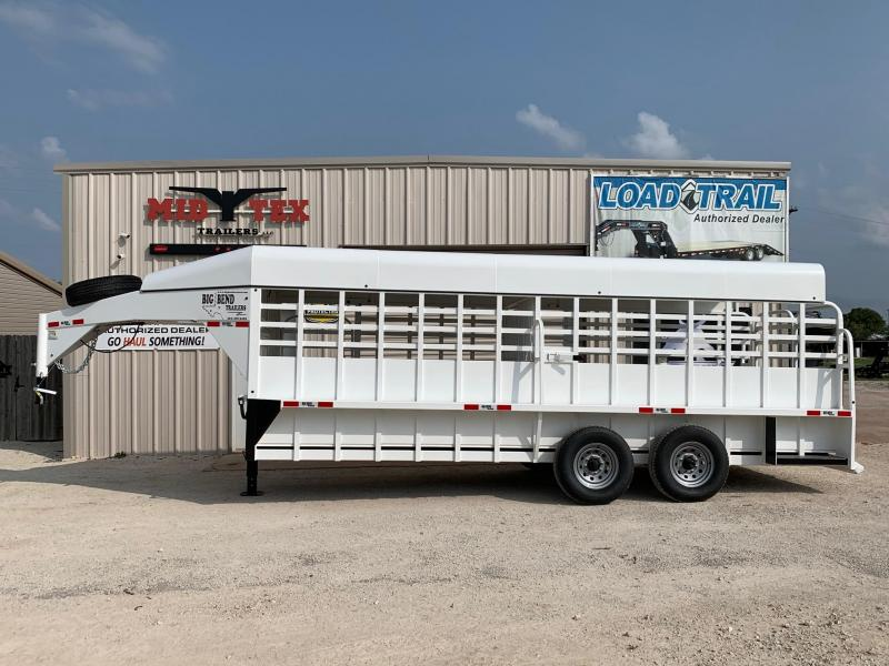 2020 Big Bend GN 6.8x20 Livestock Trailer