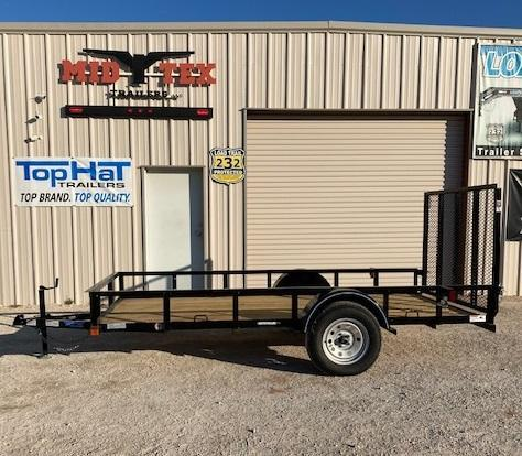 """2022 Top Hat Trailers X 12' x 72"""" Utility Trailer"""