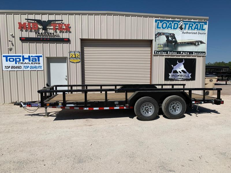2021 Load Trail CS83x18 Equipment Trailer