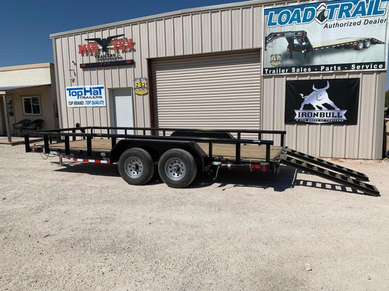 2021 Load Trail CS83x18 Equipment Trailer