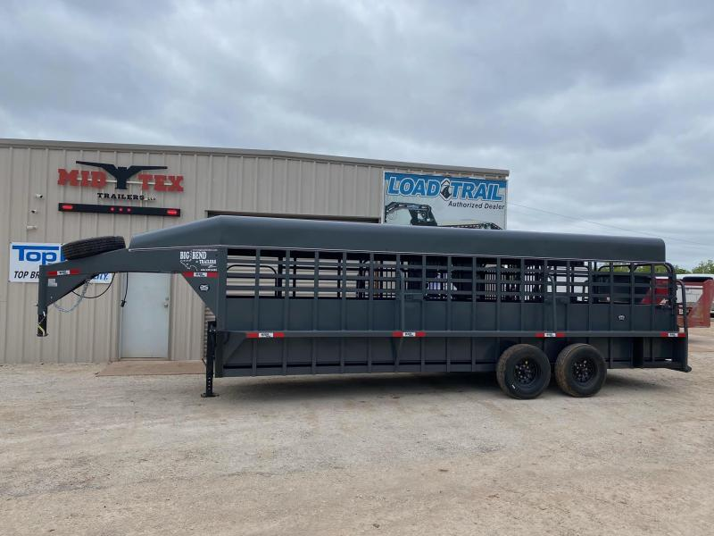 2021 Big Bend 24FT Stock Trailer Livestock Trailer