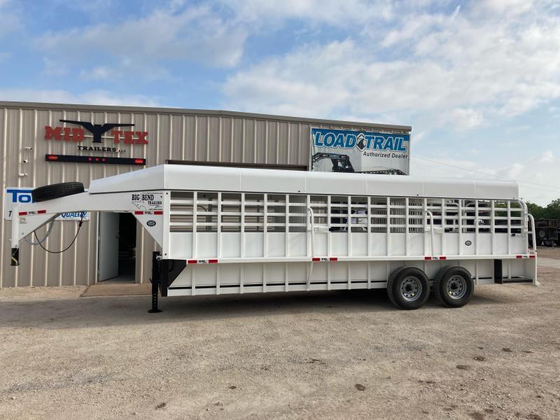 2021 Big Bend GN6.5x24 Livestock Trailer