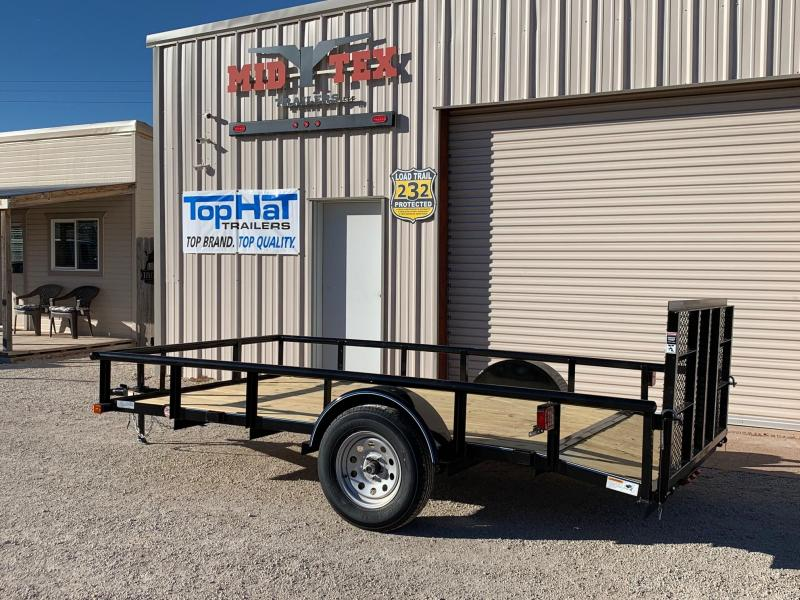 2021 Top Hat Trailers DSP 77x14 Utility Trailer