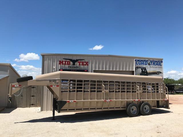 2021 Big Bend GN 6.8x24 Livestock Trailer