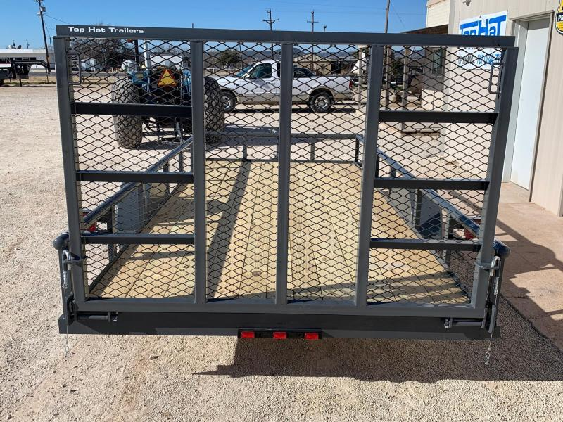 2021 Top Hat Trailers DSP77x14 Utility Trailer