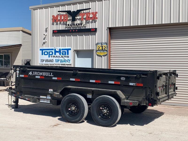 2022 Iron Bull 83 X 14 Dump Trailer