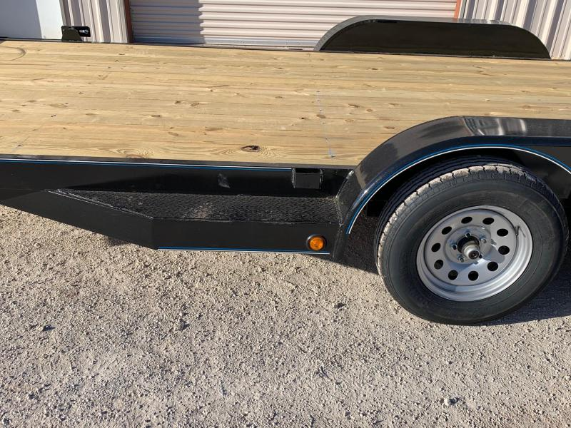 2021 Top Hat Trailers DCH83x18 Car / Racing Trailer