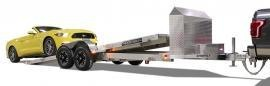 2022 Aluma 818TILT-TA-EL-RTD Utility Trailer