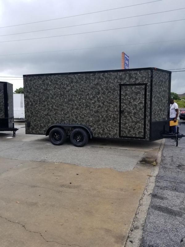 2021 Eagle Cargo 7x16TA2 Enclosed Cargo Trailer
