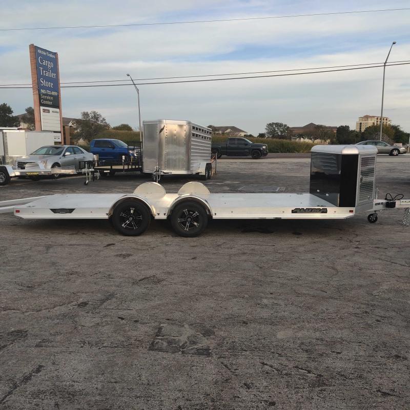 2022 Aluma 8220XL-TA-EL-R-RTD Utility Trailer