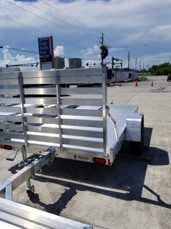 2022 Aluma 7810ESA-S-TG Utility Trailer
