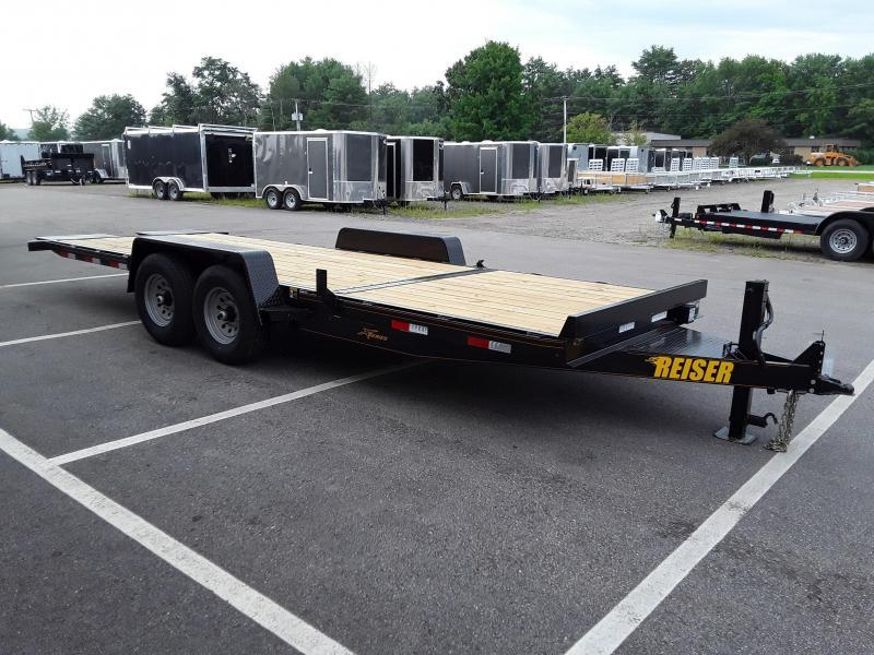 Reiser 7 x 20.5 Stationary Front Tilt Trailer