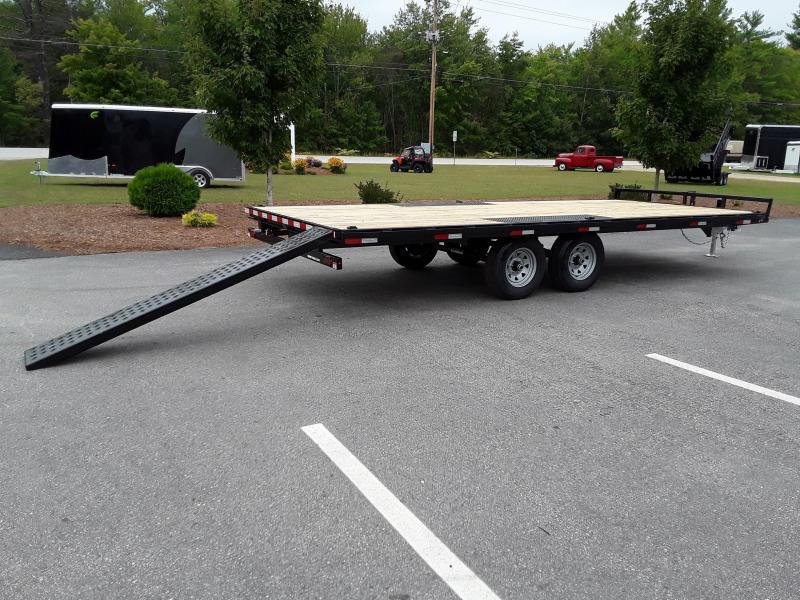 Sure-Trac 8.5 x 20 Low Profile Flat Deck Deckover
