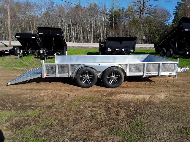 Sport Haven 7 x 14 All Aluminum Utility Trailer With Sides