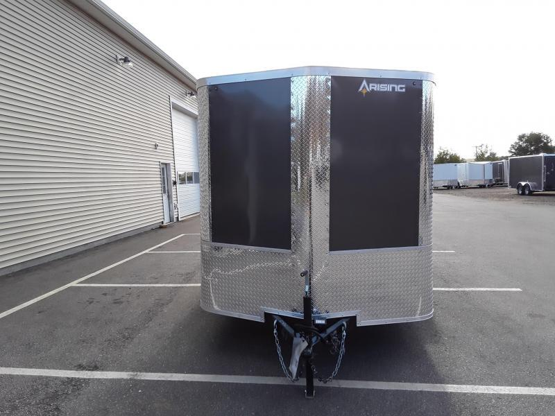 Arising Industries 7 x 12 V-Nose Enclosed Trailer