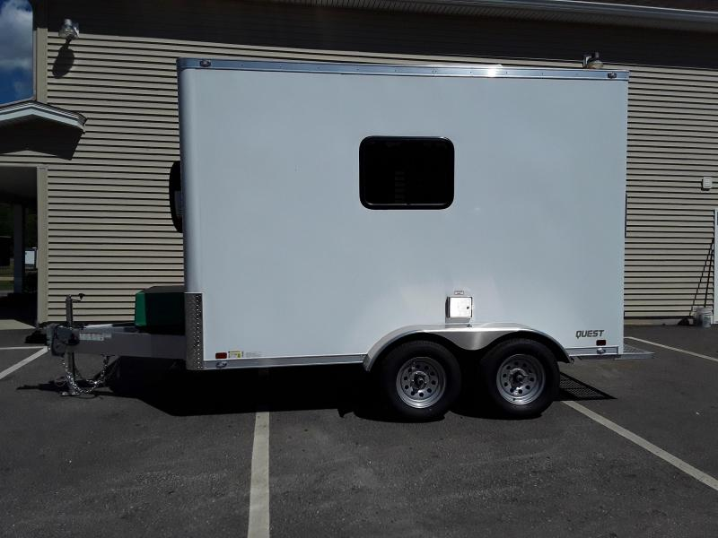 ATC 7 x 12 Fiber Optic Trailer