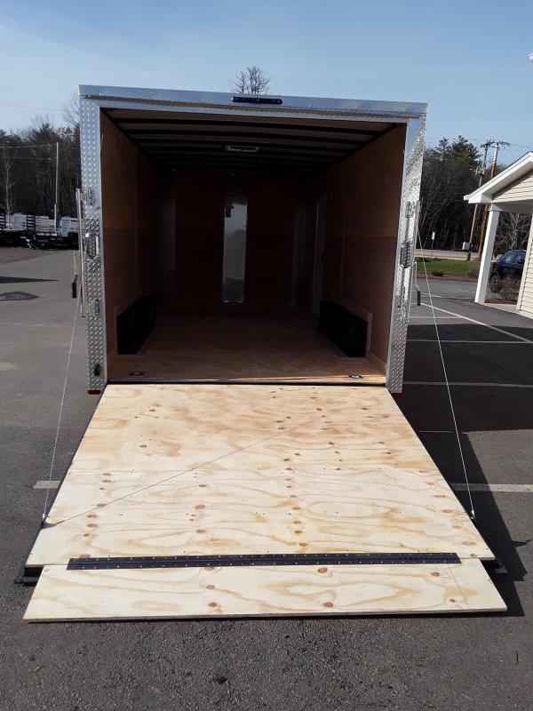Arising Industries 8.5 x 16 V-Nose Enclosed Trailer