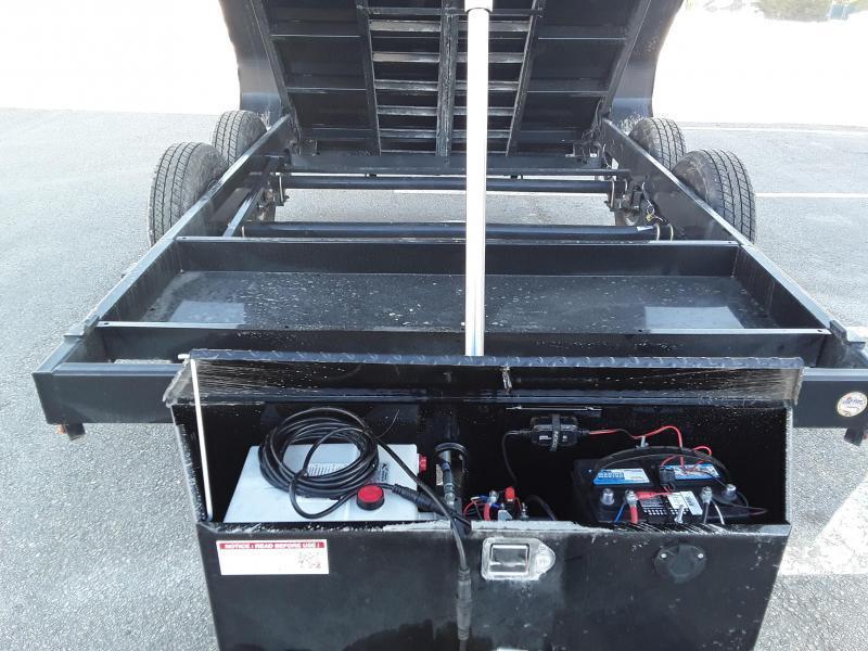Sure-Trac 7 x 12 Low Profile 12K Dump Trailer