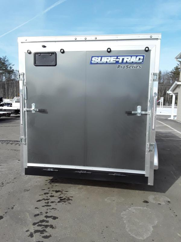 Sure-Trac 7 x 14 Pro Series Enclosed Wedge Cargo T