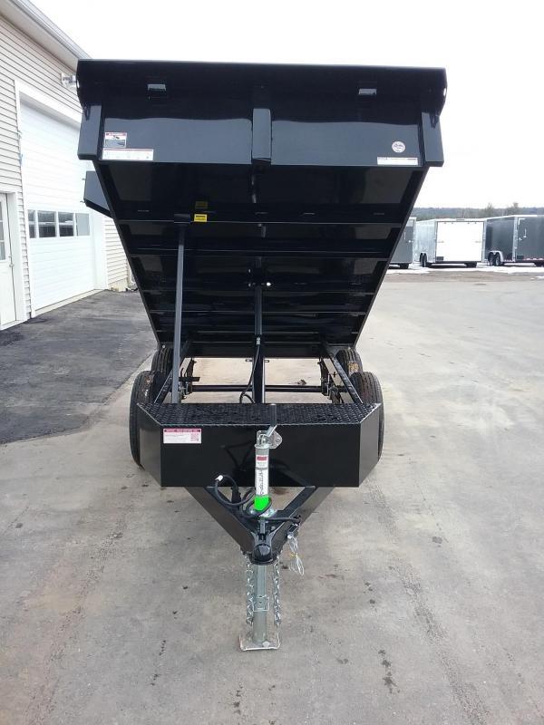Sure-Trac 6 X 10 SD Deckover Dump Trailer  7K Sing