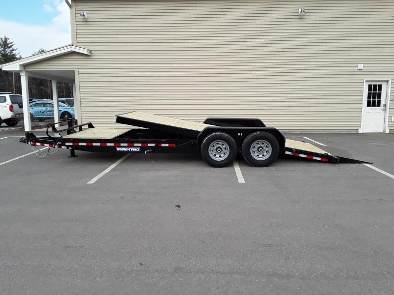 Sure-Trac 7 x 18+4 Tilt Bed Equipment Trailer  14K