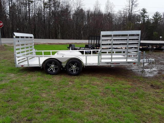 Sport Haven 7 x 16 All Aluminum Trailer with Side Ramp