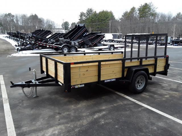 Sure-Trac 7 x 12 Three Board Utility Trailer
