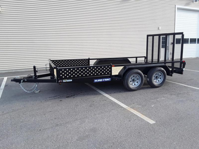 Sure-Trac 7 x 14 Tube Top ATV Trailer  7K