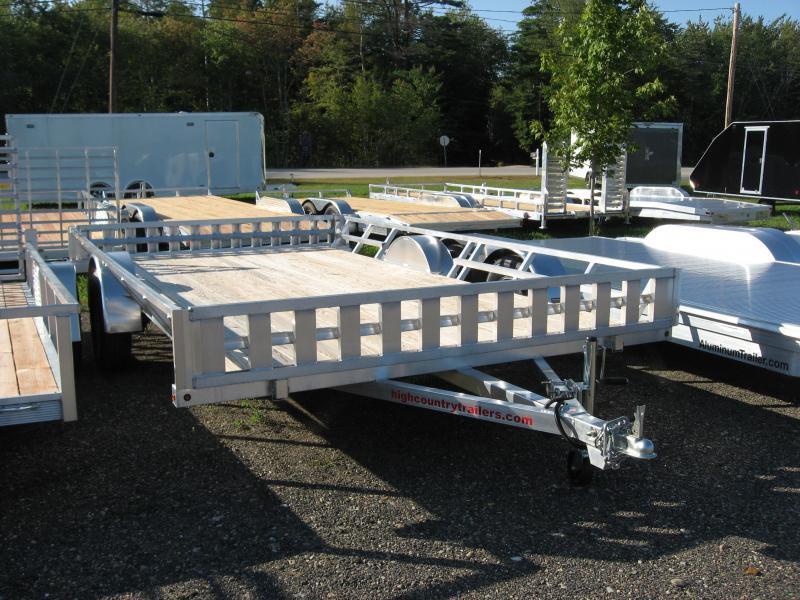 High Country 83 x 14 Aluminum ATV Trailer