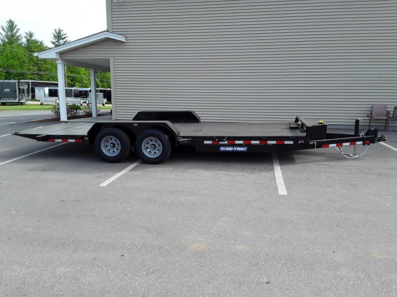 Sure-Trac 7 x 20 Central NH Power Tilt Bed Car Hau