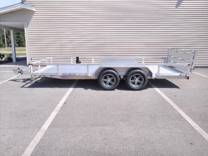 Sure-Trac 7 x 16 Aluminum Tube Top Utility Trailer