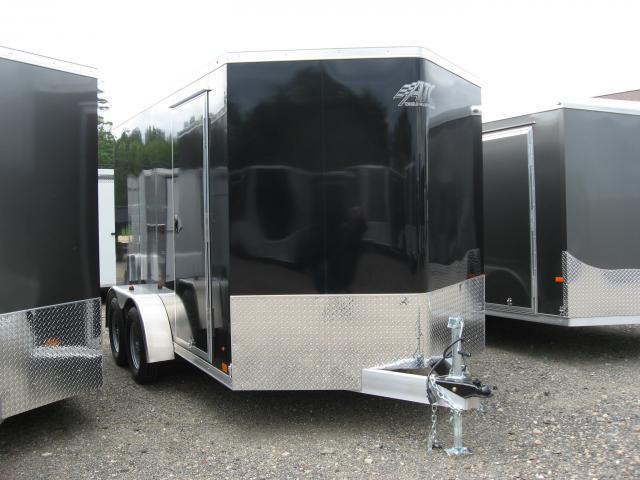 ATC 7 x 12 V-Nose Enclosed Cargo Trailer