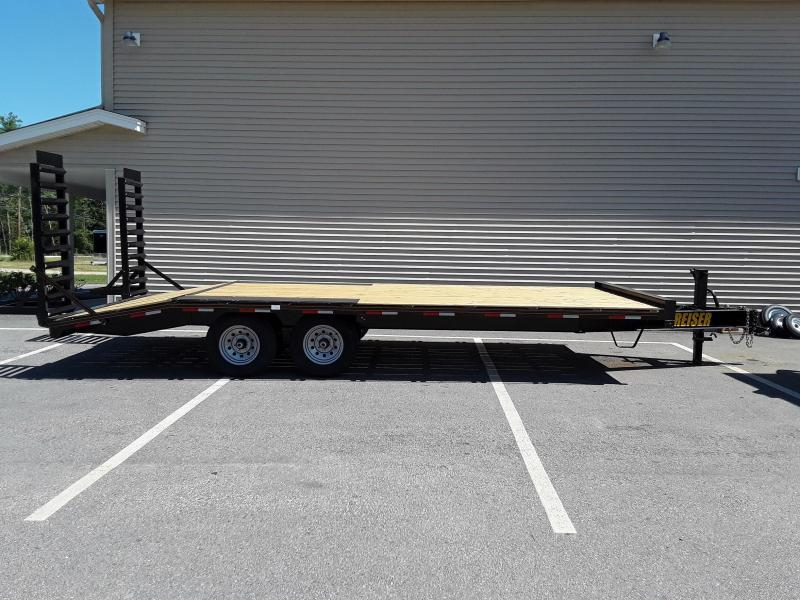 Reiser 8.5 x 20 Deck Over Equipment Trailer