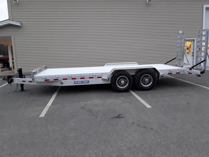 Sure-Trac 7 x 18 +2 Aluminum Equipment Aluminum Deck