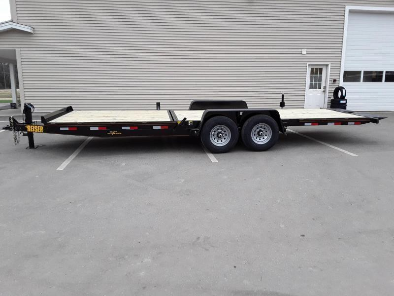 Reiser 7 x 22.5 Stationary Front Tilt Trailer