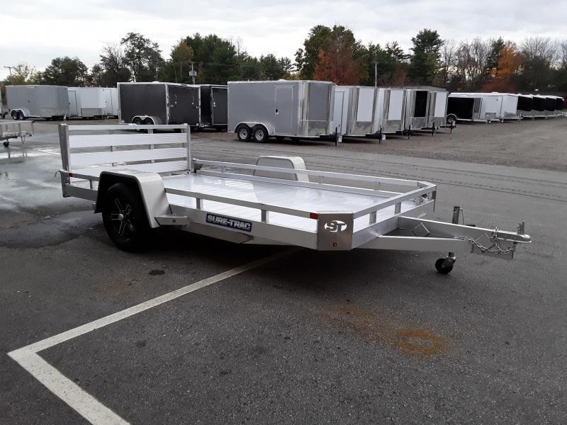 Sure-Trac 7 x 12 Aluminum Low Side Utility Trailer