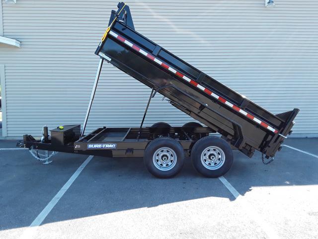 Sure-Trac 7 x 12 LP 14K Dump Trailer