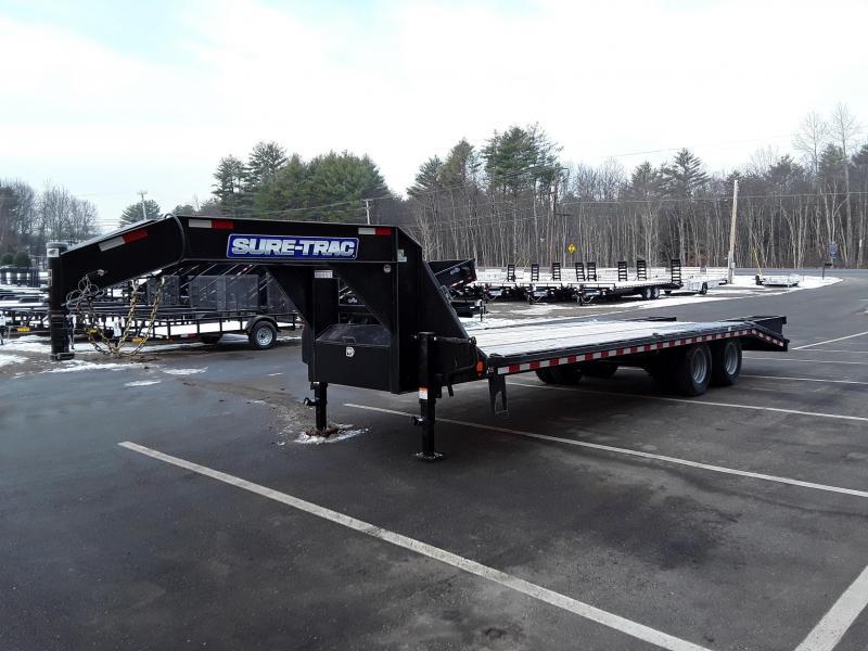 Sure-Trac 8.5 x 20+5 Heavy Duty Low Profile Goosen