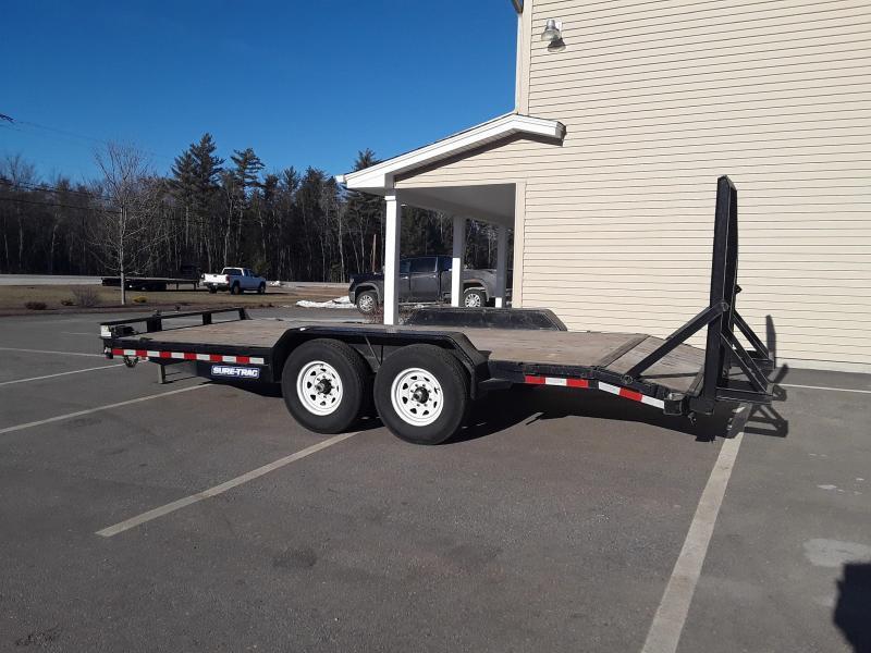 2016 Sure-Trac 7 x 18 Equipment 14K Trailer Used