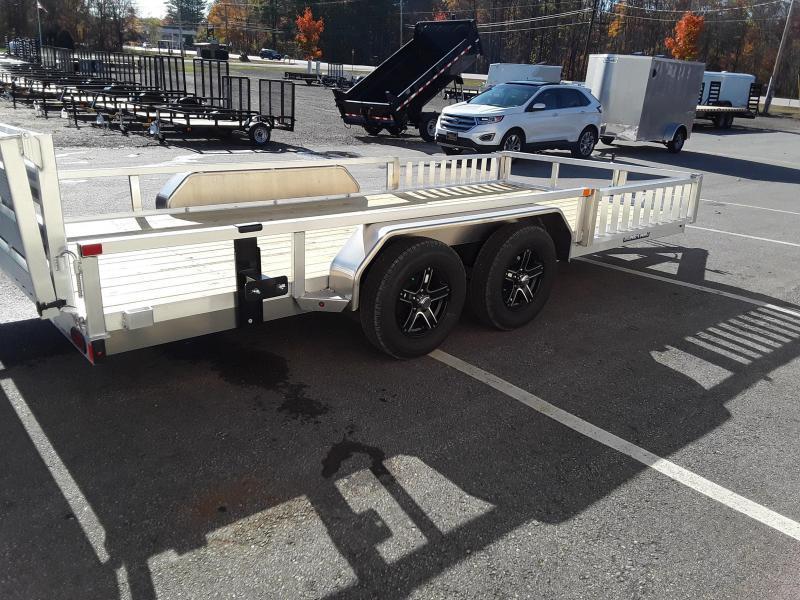 Sure-Trac 7 x 16 Aluminum ATV Trailer