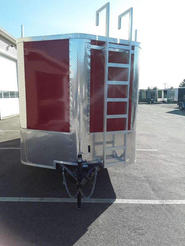 Arising Industries 7 x 16 V-Nose Contractor Trailer