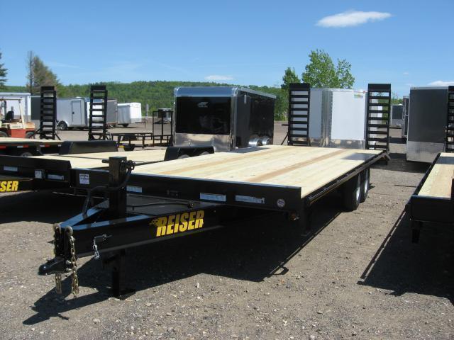Reiser 8.5 x 24 Deck Over Equipment Trailer