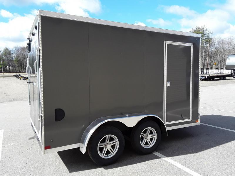 Sure-Trac 7 x 12 Pro Series Enclosed Wedge Cargo T